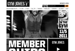 Gym Jones screenshot