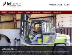 Jefferson Concrete screenshot